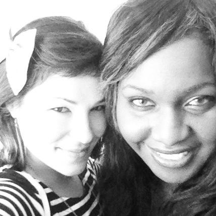 Natanya and Latanya at Blogcademy