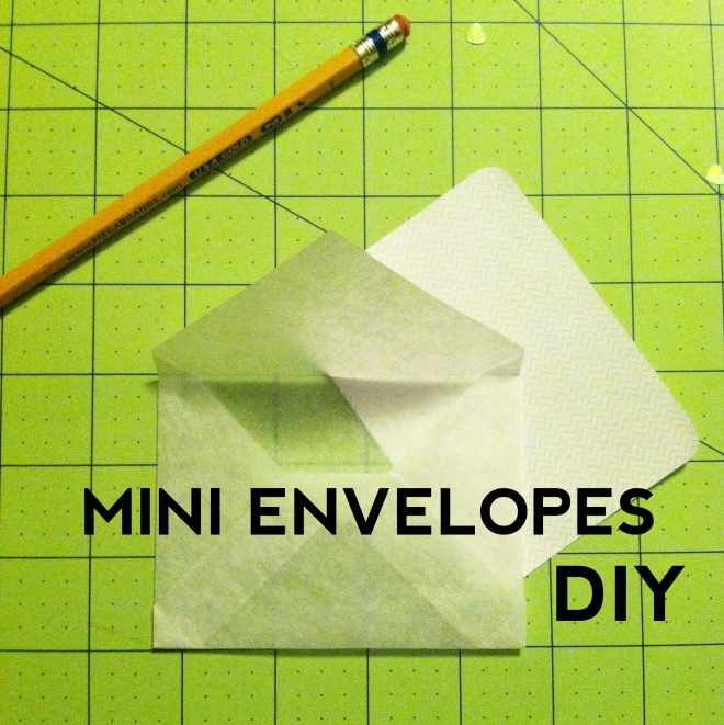 mini envelope title