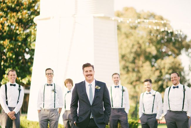grooms gray suits
