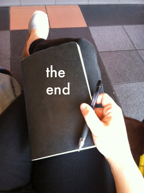 bulletjournal the end