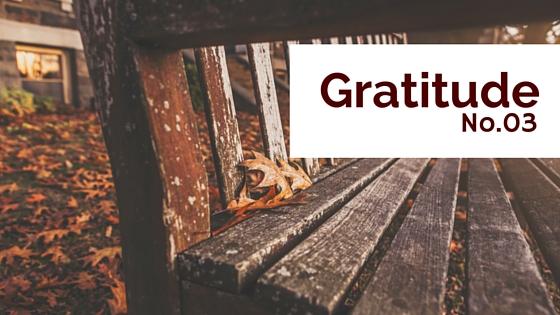 Gratitude No 03