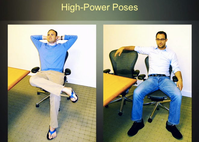 high power pose