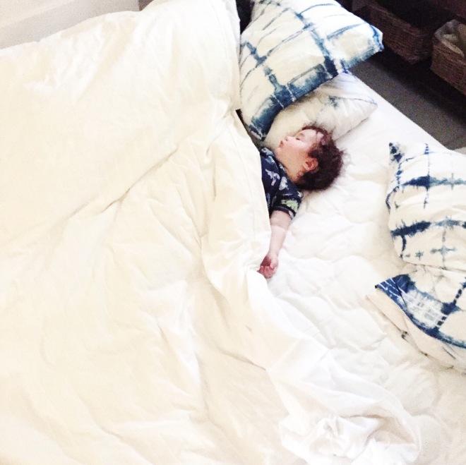 Eli asleep 2